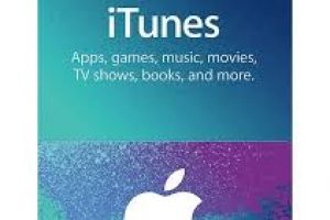 Itunes Gift Card US 15$