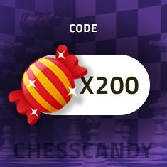 Autochess Candy x 200