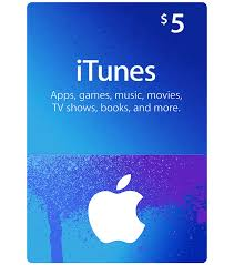 Itunes Gift Card US 5$