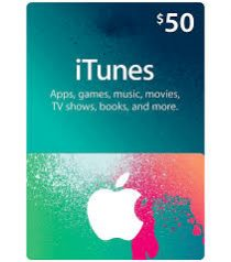 Itunes Gift Card US 50$