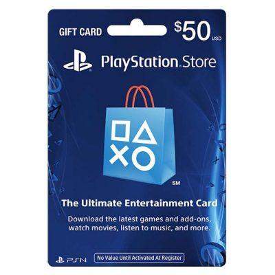 PSN Card US 50$