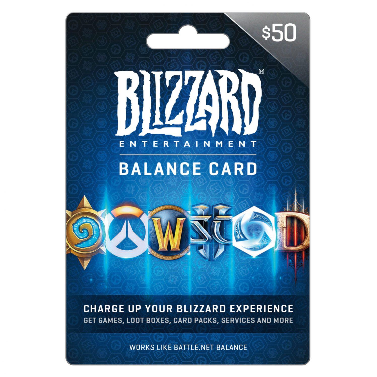 Battle.net Gift card 50$ US