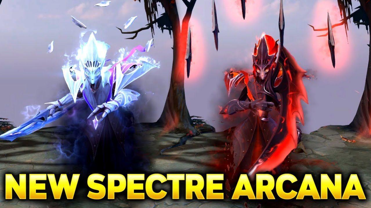 Sở Hữu Arcana spectre Phantom Advent – Book dota 2021